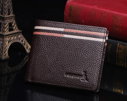2016 New Arrival Special Offer Men's There Is No Cowhide Money Clips New Leather Shengge Kangaroo Man Short A Wallet Purse Fold Layer