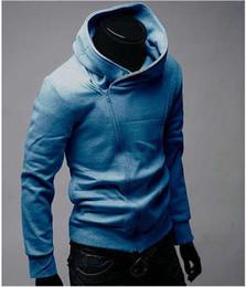 Wholesale Assassin s Creed Men s Slim oblique zipper sweater coat jacket Hoodie jacket