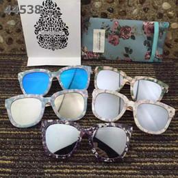 Wholesale 2016 New Fashion South Korea V Brand Sunglasses Gentle Monster Italy Best Board Flower Sunglasses with Metal Frame degree fine polishing