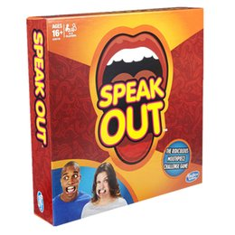 Wholesale Hottest Speak Out Game KTV party game cards for party Christmas gift newest best selling toy A106