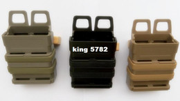 Quick magazine MOLLE The triple gear bag Airsoft fast MAG MOLLE pouch clip   5.56 mm fast mag M4 magazine pouch holster