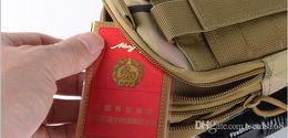 Wholesale New Men Women Tactical Waistpacks Bags Outdoor Sport Hiking Camping Purse Mobile Phone Case Running Jogging Crossbag
