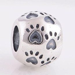 2016 Lovely Pets Claw 100% 925 Sterling Silver Bead Fit Pandora Fashion Jewelry DIY Charm Brand