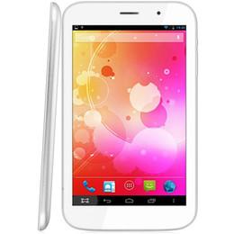 Acheter en ligne Tablette quad core 8gb-7 pouces AOSD S731 Android 4.2 Tablet PC A31S Quad Core 1.0GHz WXGA IPS écran double caméra 8 Go ROM WiFi Bluetooth