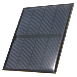 Wholesale Hot Sale V W mAh Polycrystalline Silicon Epoxy Solar Panel Mini Solar Cells DIY Solar Module Stored Energy Power
