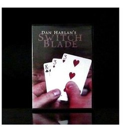 Switchblade (Gimmick and DVD) RED - Magic trick, Metal stage magic magic props
