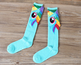 Wholesale My Little Pony Kids Socks Baby Socks New Creative Handmade Sports Socks Middle Tube Socks Animal Cartoon Girls Socks Kids Boy Elite Sock