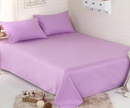 Wholesale fashion new hot sale cotton pure bedding hotel pc bed sheet Home Textile King Size