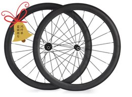 Wholesale-carbon wheels 50mm clincher wheels,carbon wheels, 700C carbon road bike wheels, free shipping