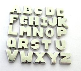 New Design floating locket charms 10pcs plain letters floating living locket as gift wholesales free shipping