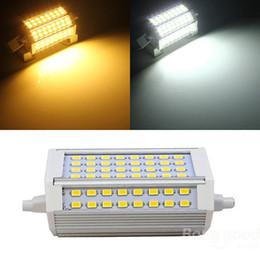 Best Promotion R7S 30W 3000LM 118mm 64 SMD5730 Warm White White LED Light Bulb 85-265V