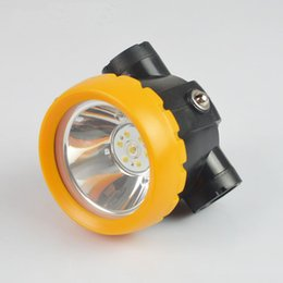 Wholesale BK2000 lithium ion battery headlamp LED miner mining cap Lamp mine Light charger
