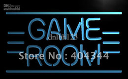 LB338-TM GAME ROOM Displays Toys TV Neon Light Sign Advertising