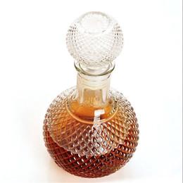 Promotion verre bouchons de vin Haute Qualité Date 1000ml Cristal Whiskey vin Prise de vue Bouteille en verre avec bouchon Stopper potable Bar Decanter