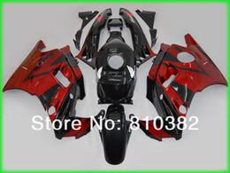 Wholesale Aftermarket Fairing kit for CBR600F2 CBR600 CBR600 F2 red black Motorcycle Fairings set HB30