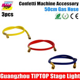 Wholesale China Mini Electronic Confetti Machine Party Cannon Jet Machine Gas Hose to Air Compressor Cheap Price Stage Light Spare Parts