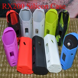 Wismec reuleaux RX200 Mod silicone Case RX200 sleeve protective Rubber Sleeve for RX200 in stock free shipping