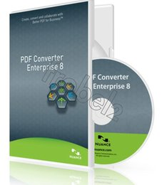 Wholesale New Nuance PDF Converter Professional English version software for win PVC Color Box Package