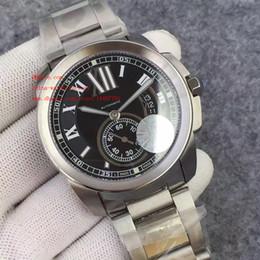 Fabricante de lujo de calidad superior JF fábrica de acero inoxidable Blanco Negro Dial DE 42mm Diver Suizo ETA 2836 del reloj para hombre Relojes movimiento automático desde esfera blanca para hombre de los relojes automáticos proveedores
