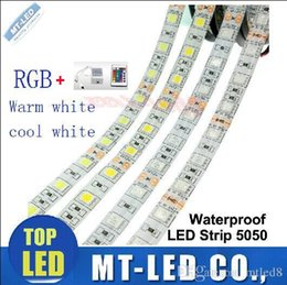 Wholesale 2016 best led strips m roll Flexible RGB LED Light Strip IP65 SMD5050 M LEDs WATERPROOF IR REMOTE Controller