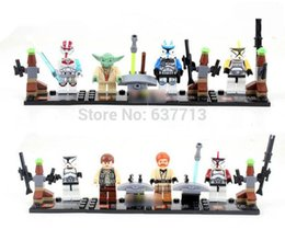Star Wars Building Block Star Wars Stormtrooper 8 Styles Mixed Star Wars Minifigure With Weapon Cards 1206#06