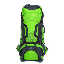 80L Outdoor Professional Mountaineering Bags Spike Large Capacity Sports Backpack Waterproof Wear Travel Bags