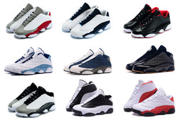 2016 high Quality air retro 13 low mans Basketball Shoes Bred Flints Grey toe He Got Game Hologram barons Sneakers Athletics XIII Boots