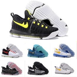 Wholesale Kd Prices Green - All color KD 9 Basketball Shoes Durant IX 9 Mic Drop Oreo Olympics Sport Sneaker Best Price Mens Athletics Discount Sneakers US Size 7-12