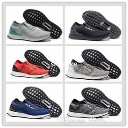 2017 hombres zapatos nuevos estilos La nueva zapatilla de deporte barata corriente al aire libre del amaestrador de los zapatos de los deportes de los hombres de Uncaged de la explosión del nuevo estilo ultra con la caja libera el envío descuento hombres zapatos nuevos estilos
