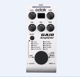 Wholesale GGEC odak GA10 acoustic guitar amplifier multieffects chorus flanger tremolo odak Guitar Effect Pedalguitar effects pedals bass guitar pedal