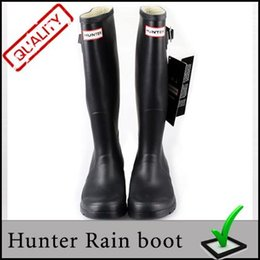 Wholesale Men Women rainboots fashion Knee high rain boots waterproof welly boots Rubber rainboots water shoes colors