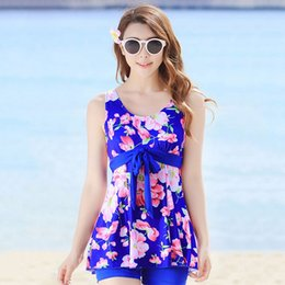Wholesale Hot Sales Women Swimsuit Set Padded Tankini Floral Beach Swimwear Summer Style Bathing Suit Biquini Ladies Swimming Suit UB0047 smileseller
