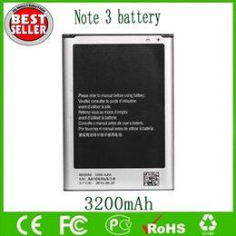 Wholesale Note Battery B800BC For Samsung Galaxy Note N9000 N9005 Replacement Batteries mAh V Factory