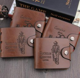 Wholesale Korean Wallets For Mens - Brand new Mens High Quality Leather Wallet Pockets Card Clutch Cente Bifold Purse Coin Holder For Men 1357