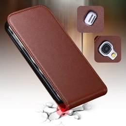 Wholesale New Affordable Luxury Retro Real Genuine Leather Case for Samsung Galaxy S4 Mini I9190 Korean Style Flip Phone Cover FLM03474