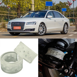 2pcs Super Power Rear Car Auto Shock Absorber Spring Bumper Power Cushion Buffer Special For Audi A8L