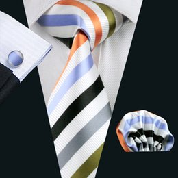New Fashion Accessories Necktie High Quality Men's Ties For Suit Business Wedding Casual Multi Stripes Men Tie N-1090