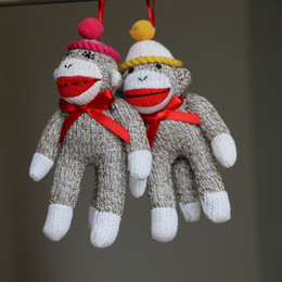 Cute plush monkey 2016 christmas gift christmas toys valentine gift plush toy plush doll