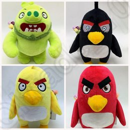 Wholesale KKA103 Birds inch Red Bird Stuffed Plush with Tags Birds BEAN BAG Bird Plush Stuffed animal Bird Doll Plush toy