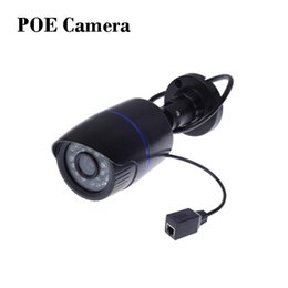 IP Camera PoE 1080P Outdoor Full HD 1080P 2MP POE Bullet IP Camera Security IR Cut P2P ONVIF 1080P Lens PoE Cable