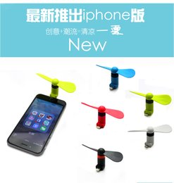 Wholesale 2016 samsung android micro usb interface of the iphone s splus mini electric fan DHL