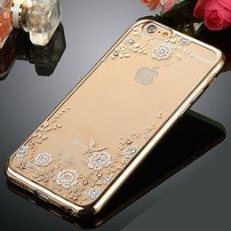 Wholesale TPU Secret garden case For Samsung Galaxy S6 edge plus S7 Iphone s Plus bump Shockproof Dustproof Case