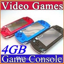 FREE Built-in 5000 games, 4GB 4.3 Inch PMP Handheld Game Player MP3 MP4 MP5 Player Video FM Camera Portable Game Console C-YXJ