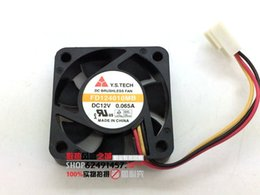 Wholesale Genuine original mountain V dual ball A FD124010MB ultra quiet cooling fan