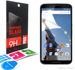 For Motorola Moto E2 G4 play PLUS X droid edition PLAY STYLE XT1080 X3 0.33mm 2.5D 9H Tempered Glass Screen Protector Film guard retail-box
