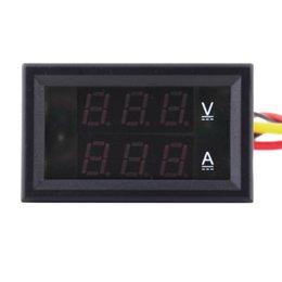 Wholesale pc DC V A Dual LED Digital Volt meter Ammeter Voltage AMP Power Stock Offer