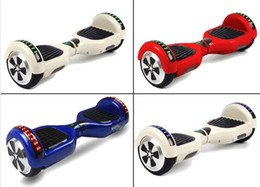 chrome scooter led on side electric hoverboard self balance scooter 6.5 inch local Battery 4400mah two wheel smart balancing scooter