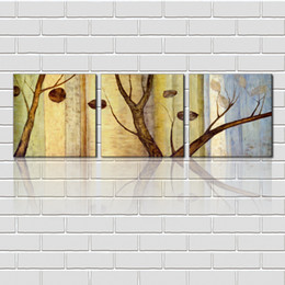 Wholesale unframed Pieces picture Canvas Prints Abstract antique imitation hand painted oil painting branch leaf flower