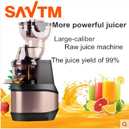 Wholesale SAVTM Domestic large caliber Raw juice machine slow juice machine making baby food supplement automatic juicer