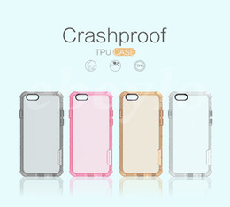 Wholesale Crashproof TPU Case Nillkin New Design Best Protector Case For iPhone s and iPhone plus s plus